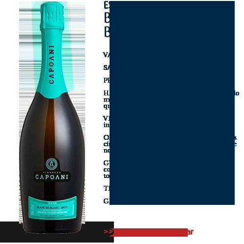 Espumante Capoani Blanc de Blanc Brut 2016