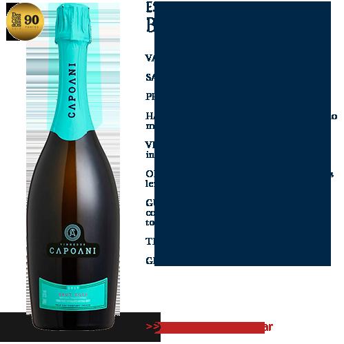 Espumante Capoani Brut Rosé 2017