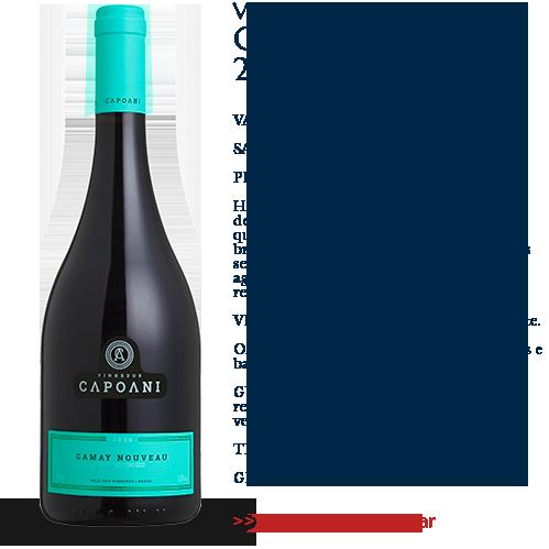 Vinho Tinto Capoani Gamay Nouveau 2020