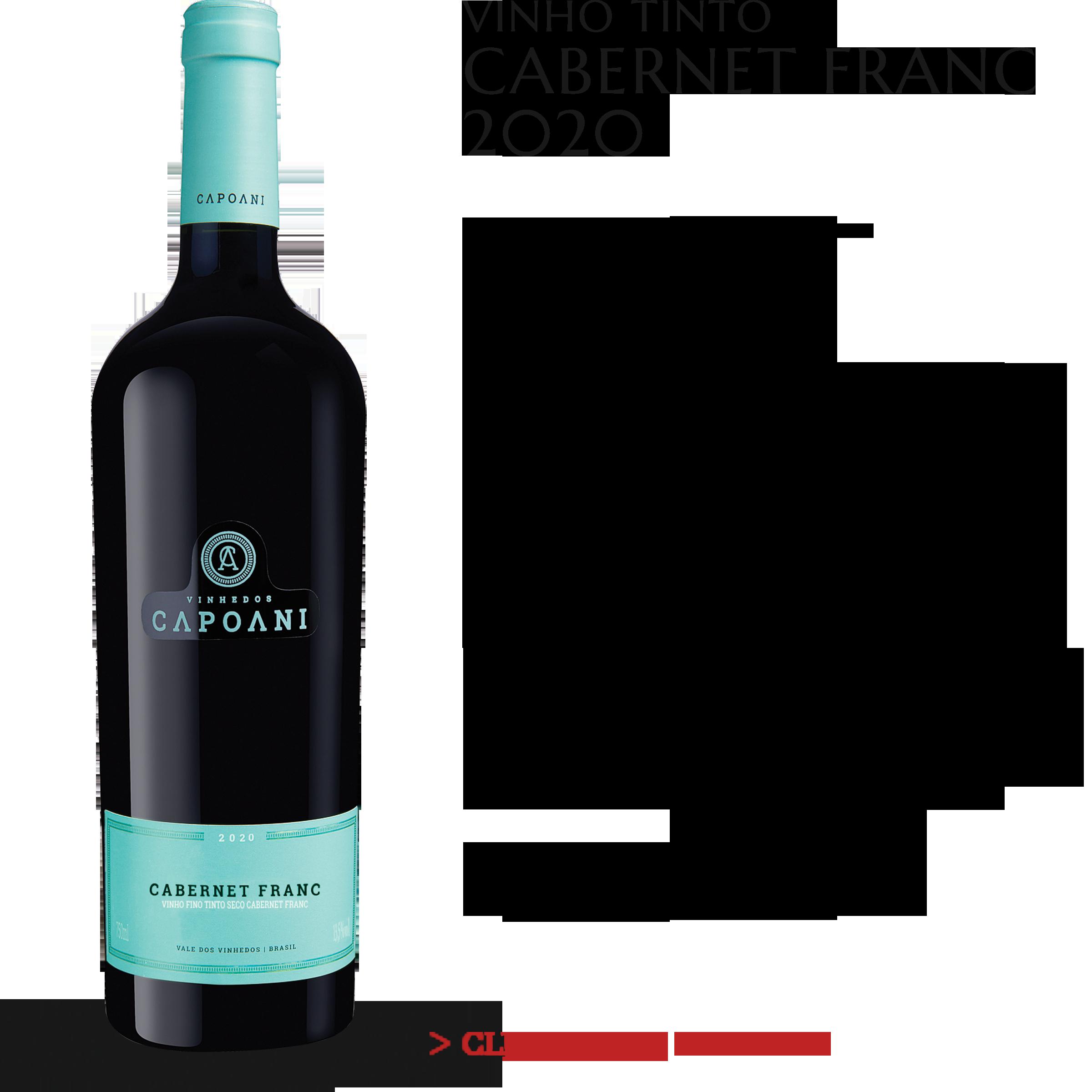 Vinho Tinto Cabernet Franc 2020