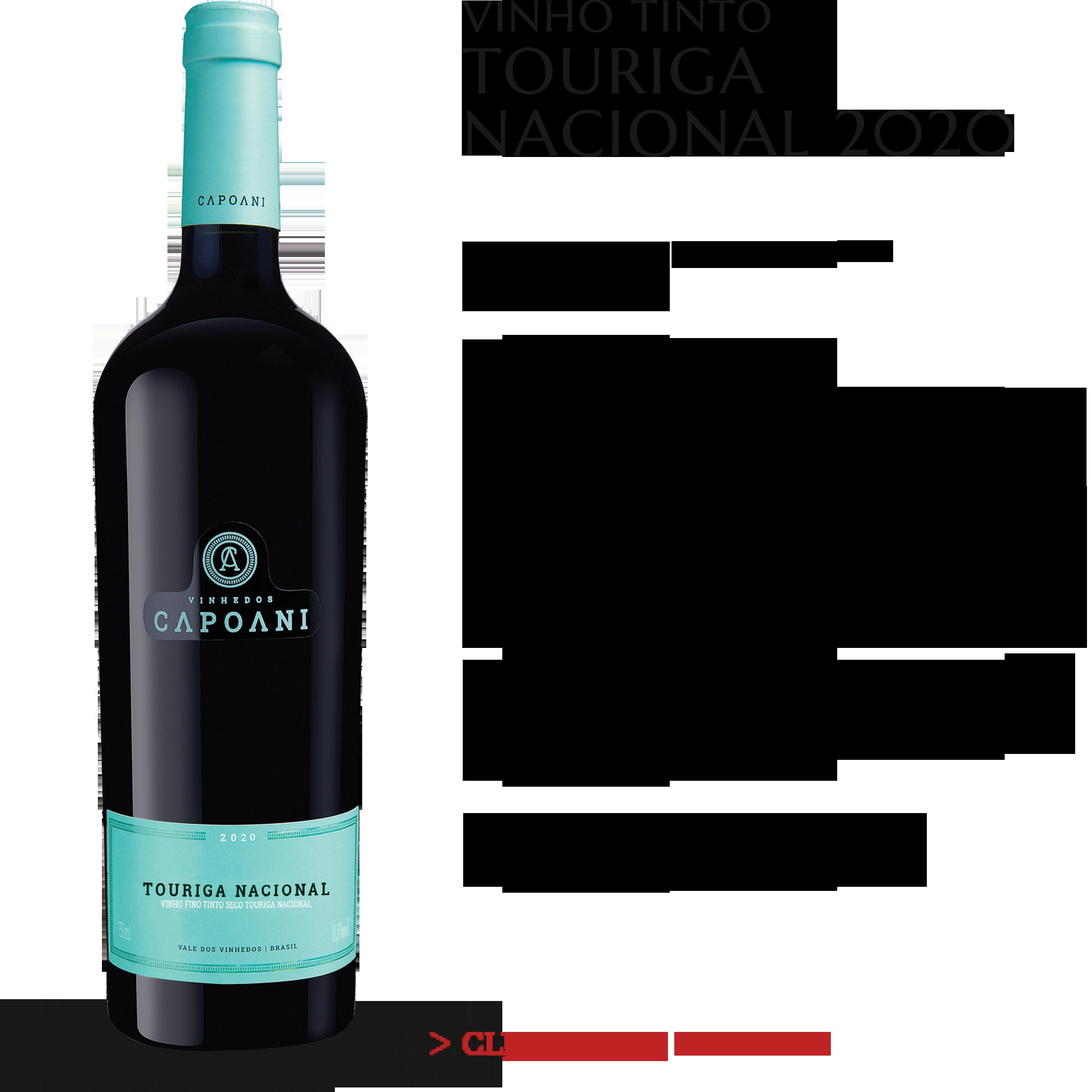 Vinho Tinto Capoani Touriga Nacional 2020